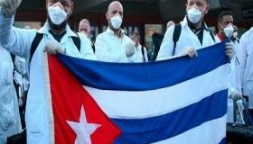 Médicos cubanos de Lombardia ya están en casa